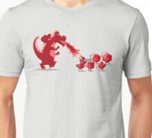 Rolling into Battle Unisex T-Shirt