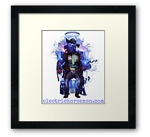 Electric Horsemen - Electrocuted Horseman Framed Print