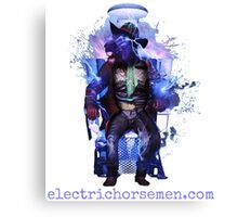 Electric Horsemen - Electrocuted Horseman Canvas Print