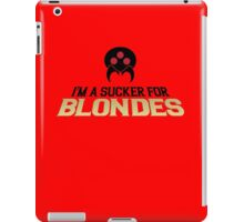 Metroid Sucker for Blondes iPad Case/Skin