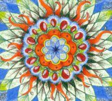 Mandala in Space Sticker