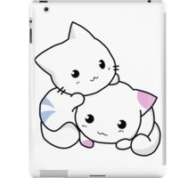 Cute playful kitten couple iPad Case/Skin