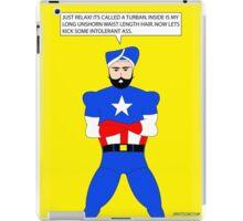 Captain America in a Turban iPad Case/Skin