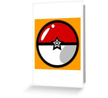 PokeballZ Greeting Card