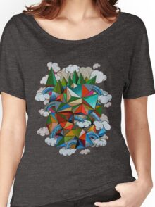 Flying Forest Women's Relaxed Fit T-Shirt