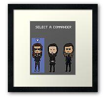 Select Commander Lexa Framed Print