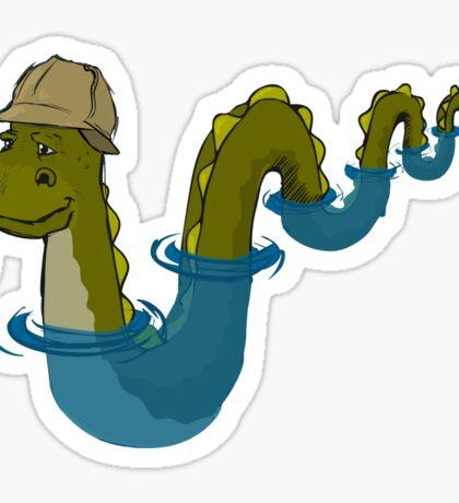 Sherloch Ness Monster Sticker