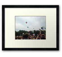Firefly Festival Framed Print