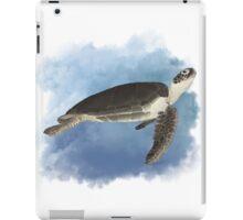 Fred the Friendly Sea Turtle iPad Case/Skin