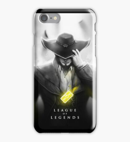 Twisted Fate iPhone Case/Skin