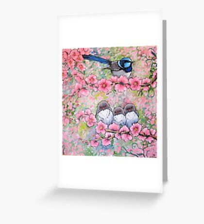 Blossom Family Greeting Card