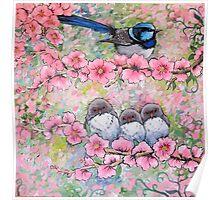 Blossom Family Poster