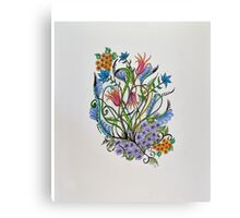 Flowers/18 - Coat of Many Colors Canvas Print