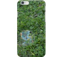Bubbles and clover iPhone Case/Skin