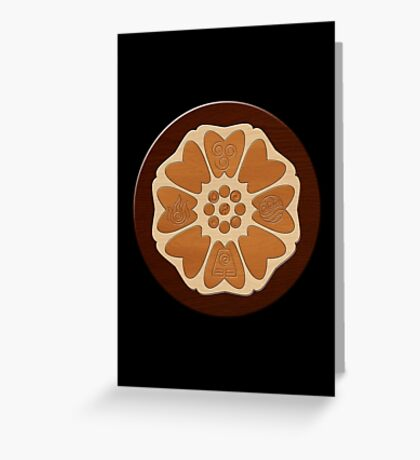 Order of the White Lotus Greeting Card