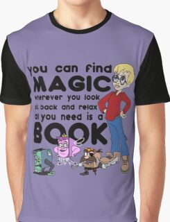 Turn the Page Graphic T-Shirt