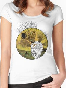 Revealing the Third Eye Women's Fitted Scoop T-Shirt