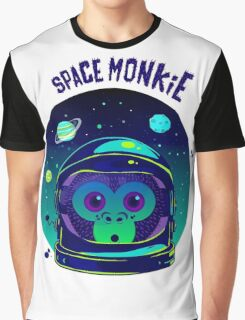 SPACE MONKIE Graphic T-Shirt