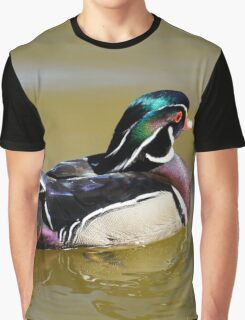 Wood Duck Graphic T-Shirt