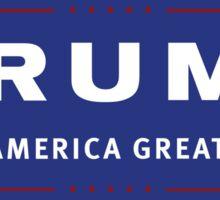 Make America Great Again Donald J. Trump Sticker