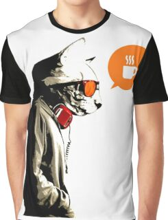 COFFEE CAT Graphic T-Shirt