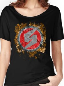 Metroid Symbol Splatter Women's Relaxed Fit T-Shirt