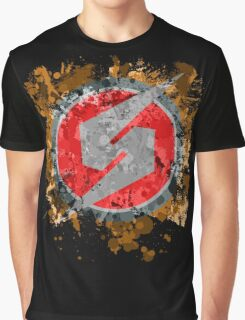 Metroid Symbol Splatter Graphic T-Shirt