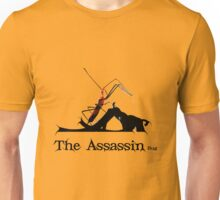 Spooky Stalking Assassin Wheel Bug With Dagger Unisex T-Shirt