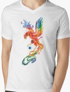 Fenix Colorful Mens V-Neck T-Shirt