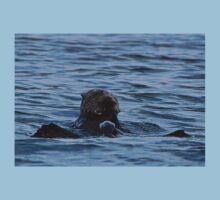 Lunch-time Sea Otter Baby Tee