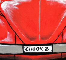 Beetle Chooks 2 Sticker