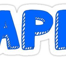 Kappa Block Sticker