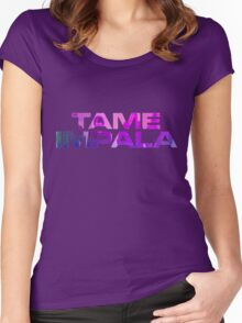 Tame Impala Logo #3 Women's Fitted Scoop T-Shirt