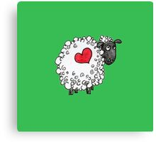 Sheepie - Love Ewe Canvas Print