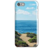 PATH TO THE SEA iPhone Case/Skin