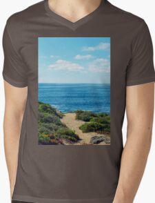 PATH TO THE SEA Mens V-Neck T-Shirt