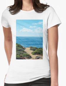 PATH TO THE SEA Womens Fitted T-Shirt