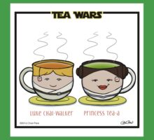 Tea Wars Baby Tee