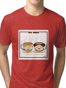 Tea Wars Tri-blend T-Shirt