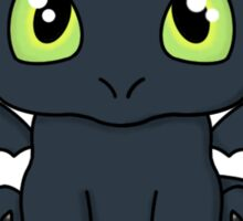 Seated Toothless Sticker