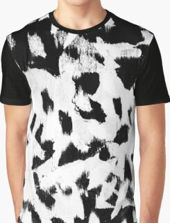 Tombs Brush Pattern Graphic T-Shirt