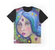 Moonlight Rays Graphic T-Shirt