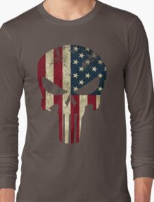 Punisher of America Long Sleeve T-Shirt