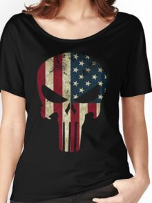 Punisher of America Women's Relaxed Fit T-Shirt