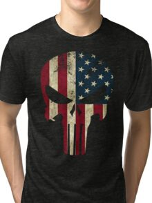 Punisher of America Tri-blend T-Shirt