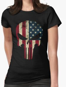 Punisher of America Womens Fitted T-Shirt