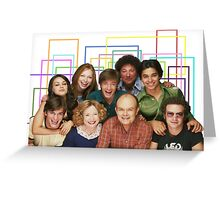 That '70s Show Cast Greeting Card