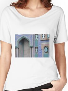 Colorful mosaic facade from mosque. Women's Relaxed Fit T-Shirt