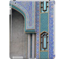 Colorful mosaic facade from mosque. iPad Case/Skin