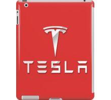 Tesla logo 2 iPad Case/Skin